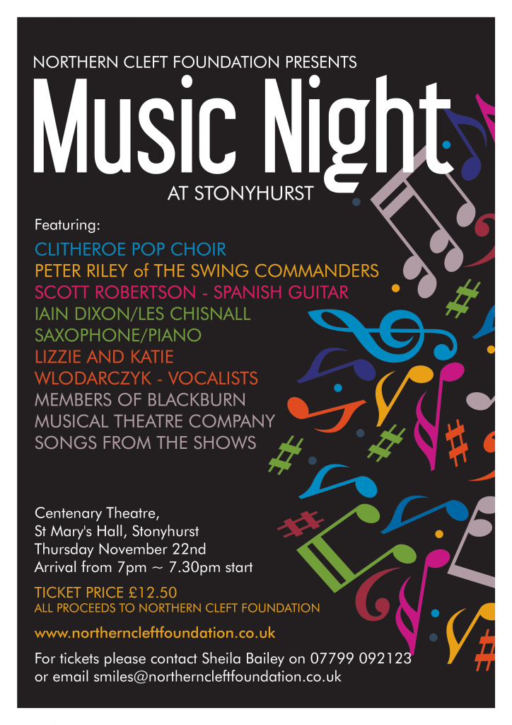 NCF Music Night Poster 2018